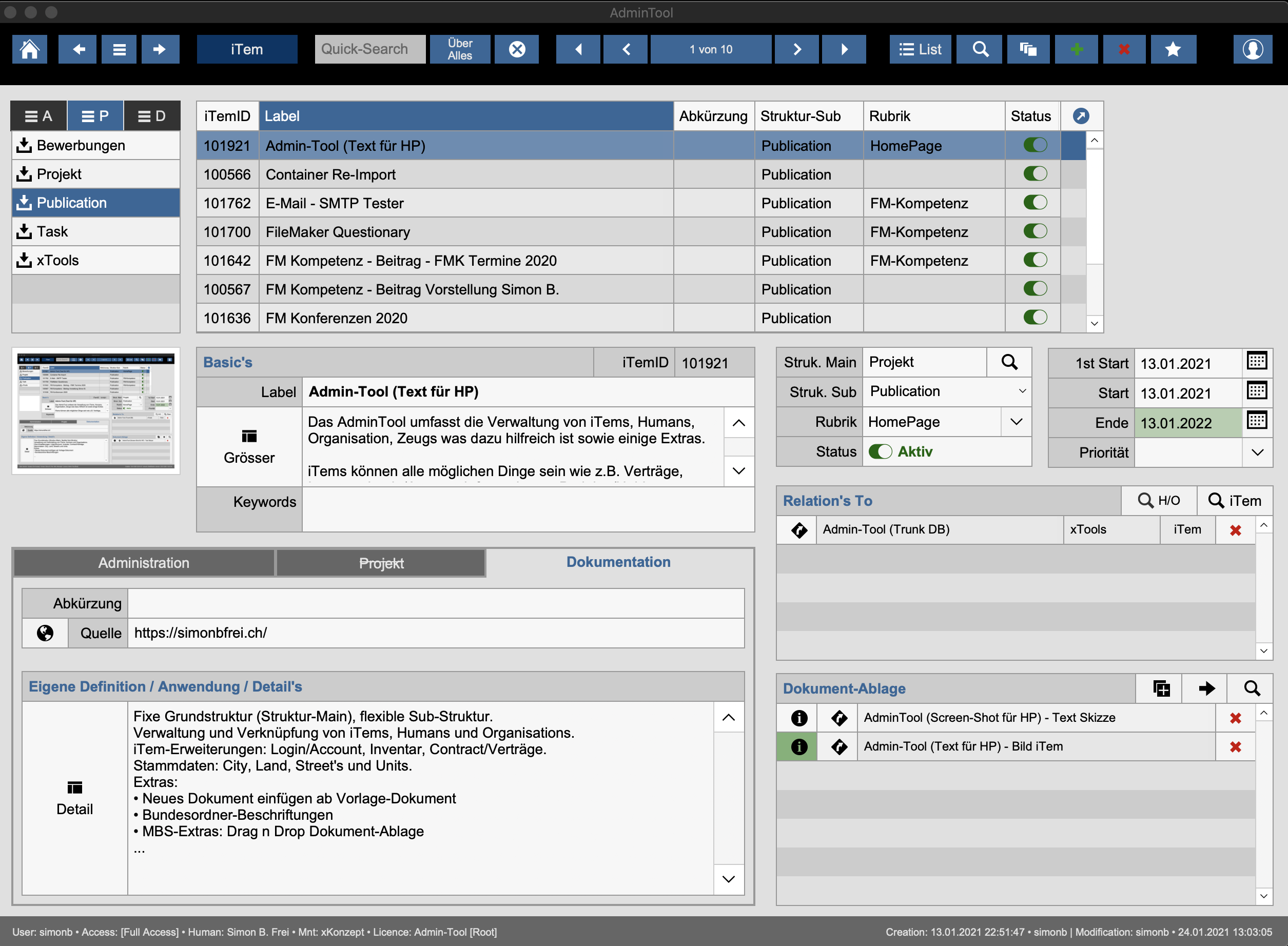 Read more about the article Mein Admin-Tool
