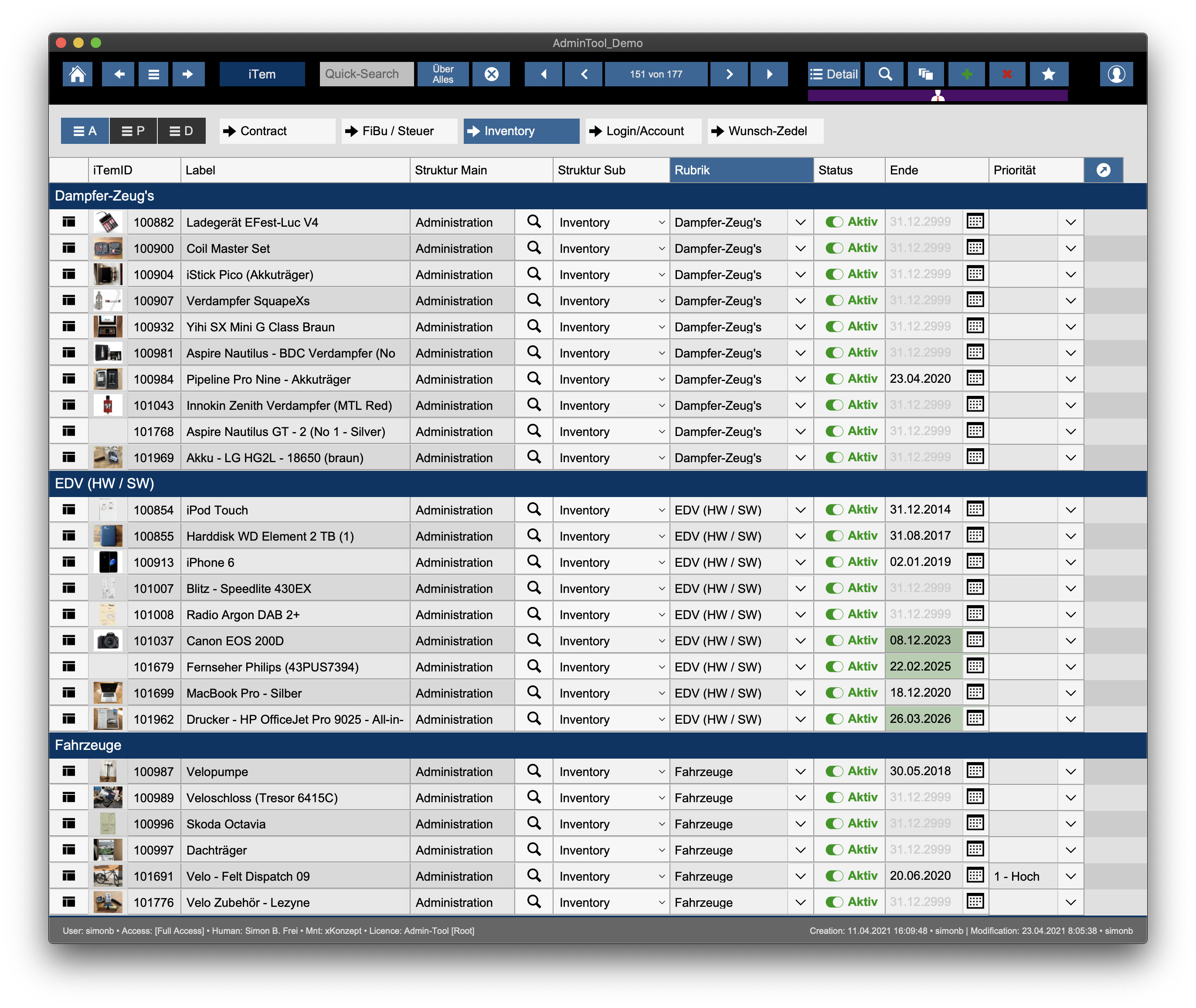 Read more about the article Admin-Tool – Neue Zwischen-Version